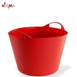 Строителен кош 42 литра в червен цвят