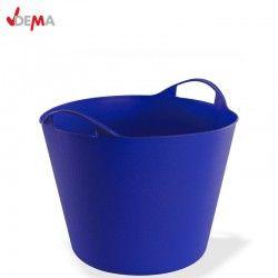 Строителен кош 25 литра в син цвят