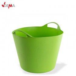 Строителен кош 25 литра в зелен цвят