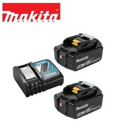 Комплект 2 х 5.0 Ah Li-Ion батерии и зарядно устройство 18 V