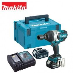 Cordless Impact Wrench 1/2 Drive 18V / MAKITA DTW1001RTJ /