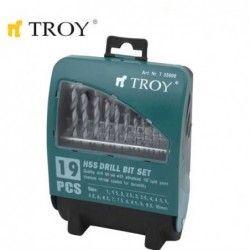 Комплект свредла за метал HSS  / Troy 35000 / 1