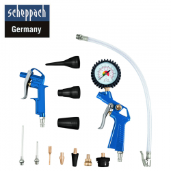 Compressor Accessory Kit of 13 parts / Scheppach 7906100710 /