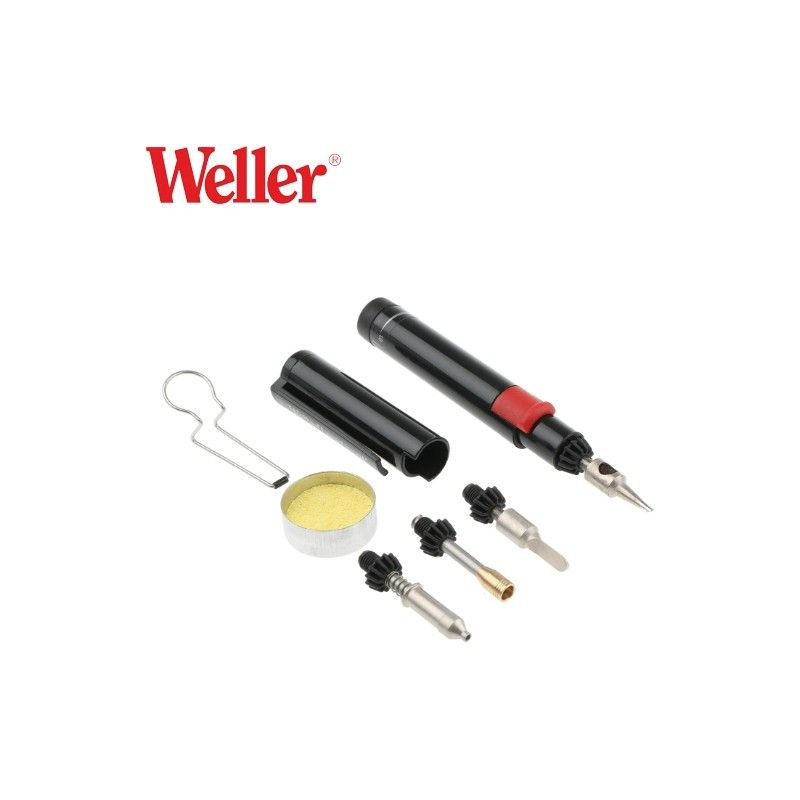 Professional Self-igniting Cordless Butane Solder Iron / Weller P-1K / WELLER - 4