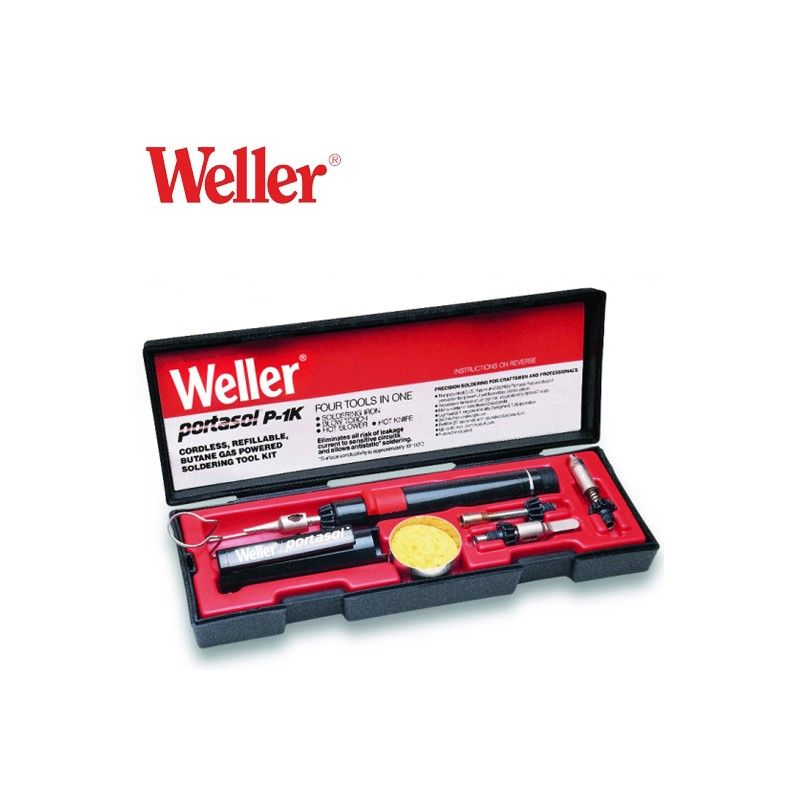 Professional Self-igniting Cordless Butane Solder Iron / Weller P-1K / WELLER - 1