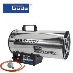 Печка газова GGH 17 INOX / GUDE 85006 /