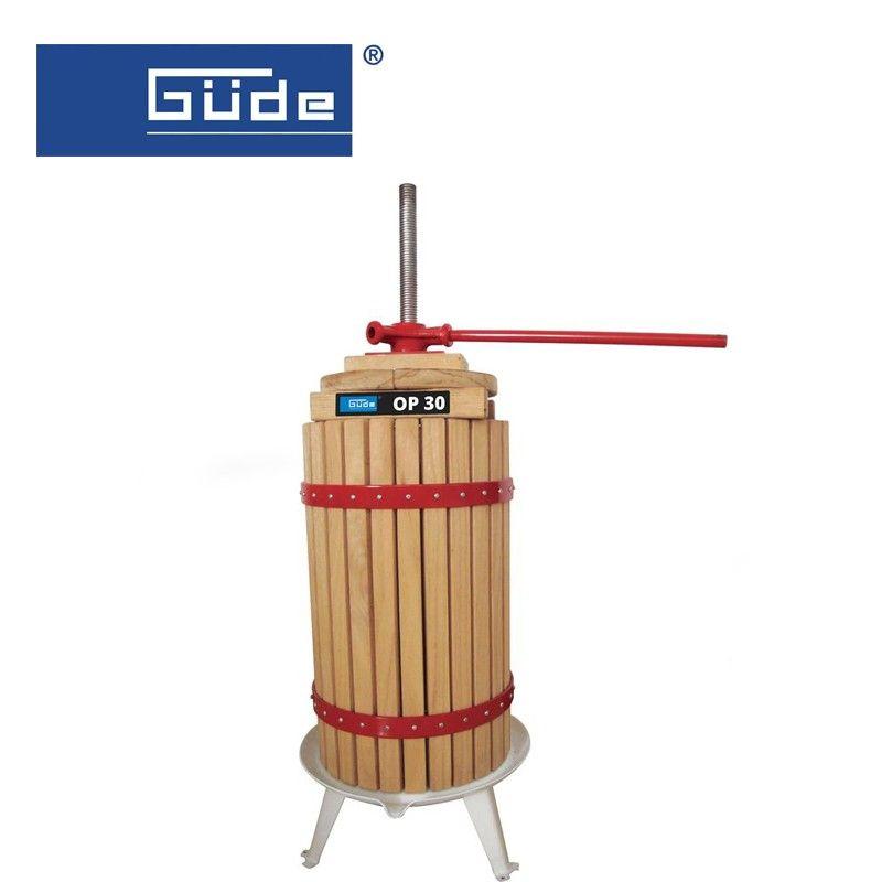 Преса за плодове OP 30 / GÜDE 30018 /