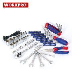 Сервизен стол - количка с инструменти 136 части / Workpro W009039 / 5