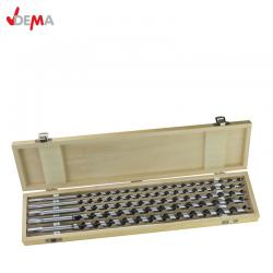 Auger Drill Bit Set 5 pcs. in the wooden box / DEMA 20615 /