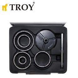 Комплект боркорони 8 части / Troy 27408 /