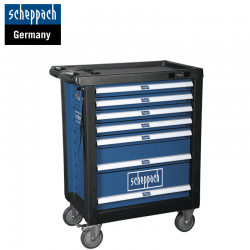 Workshop Trolley TW1000, 263-Piece with 7 Drawers