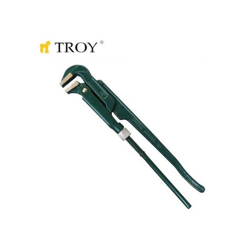"""Професионален тръбен ключ 1,5""""  / TROY 21001 /"""