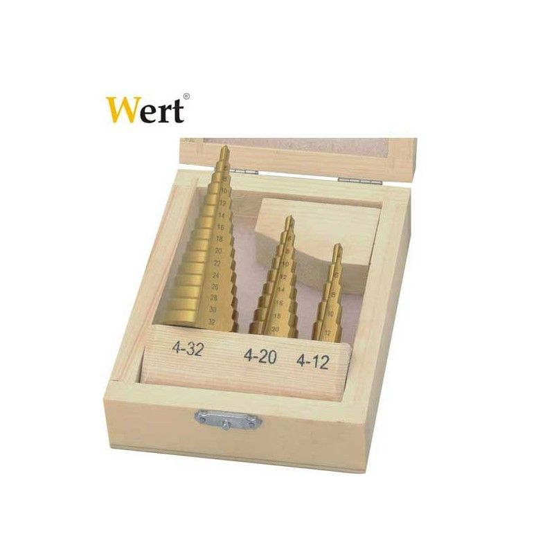 Step Drill Set / Wert 3500 /