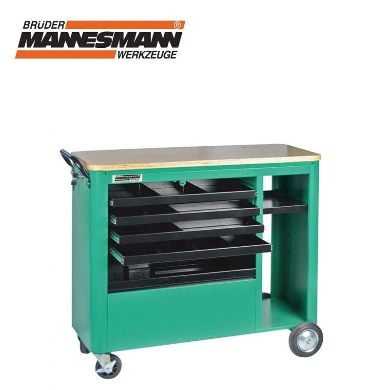 Количка за инструменти с 4 чекмеджета / Mannesmann 28257 /