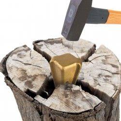 DEMA Клин за цепене на дърва, метален 1