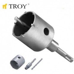 Боркорона за бетон SDS Plus (Ø 67mm) / Troy 27490 / 1