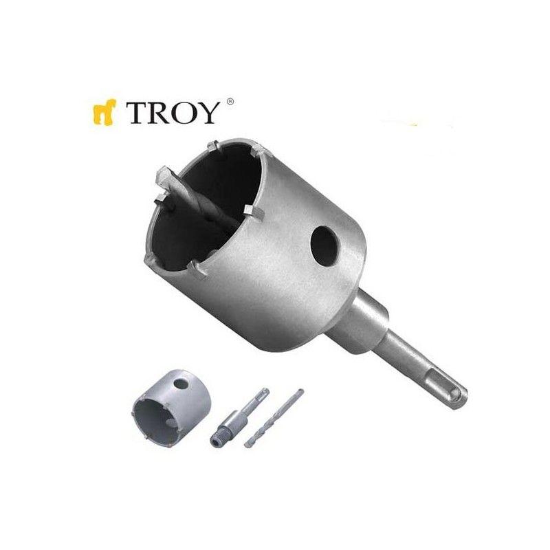 Боркорона за бетон SDS Plus (Ø 67mm) / Troy 27490 /