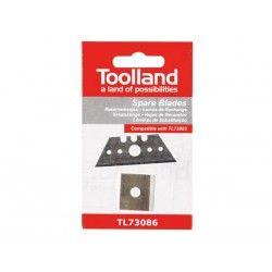 Toolland  Резервни ножове за Резец за гипдокартон