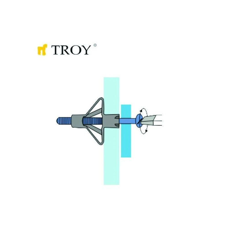 HRM Plug Application Gun  TROY - 2