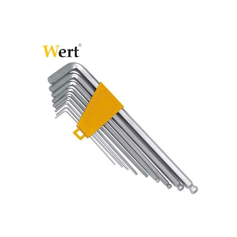 Hex Key Set Ball Head / WERT 2250 /