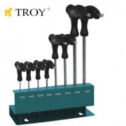 Hex Key Set T-handle / TROY 22308 / 1