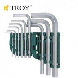 Комплект шестограмни ключове 1,5 - 10мм 1