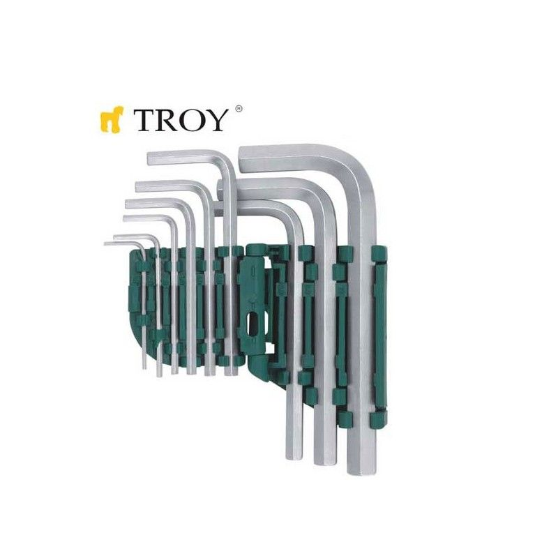 Hex Key Set (9 Pcs) / TROY 26201 / TROY - 1