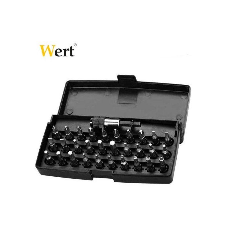 Комплект накрайници за отвертка 31 Pcs  / WERT 2231 /