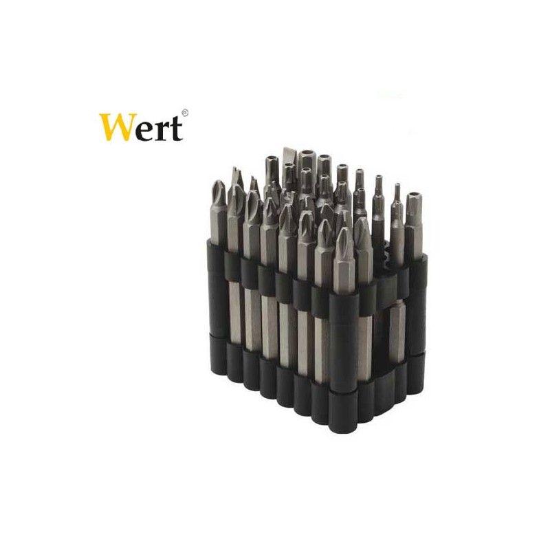 Комплект накрайници 32 части  / WERT 2232 /