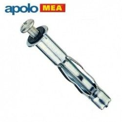 Metal Hollow Wall Anchor HRM 13 x 52 mm, 100 pcs  / Apolo MEA HRM 6/16 /
