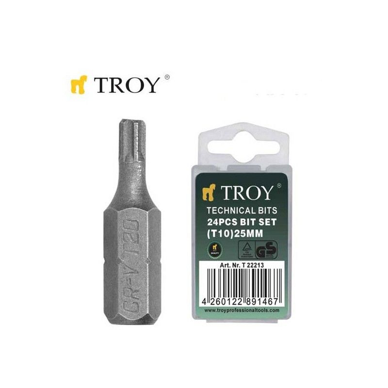 Накрайници за отвертка T10x25mm