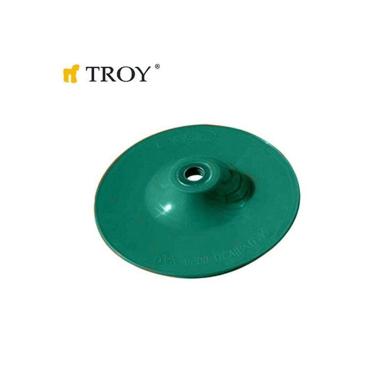 Пластмасова шайба за шкурка 115mm / Troy 27920 /