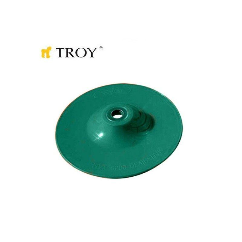 Пластмасова шайба за шкурка 180mm / Troy 27921 /