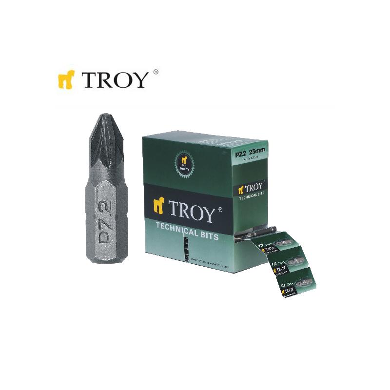 TROY 22254 Bits Uç Seti PZ2X25mm