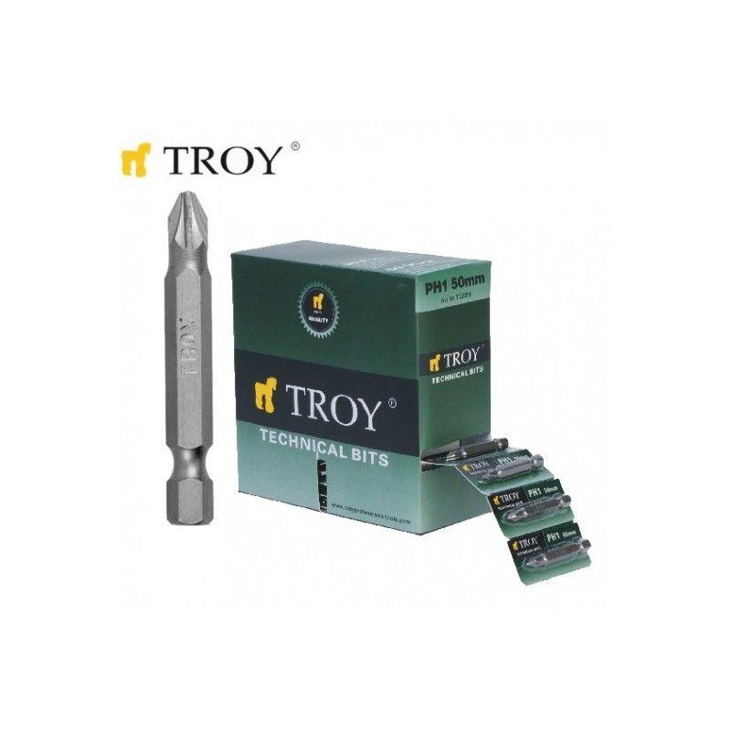TROY 22256 Bits Uç Seti PH2x50mm