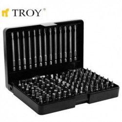 Комплект битове 113 части  / TROY  22301 / 1