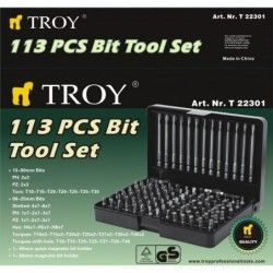 Bits Set, 113 Pcs  / TROY  22301 / 2