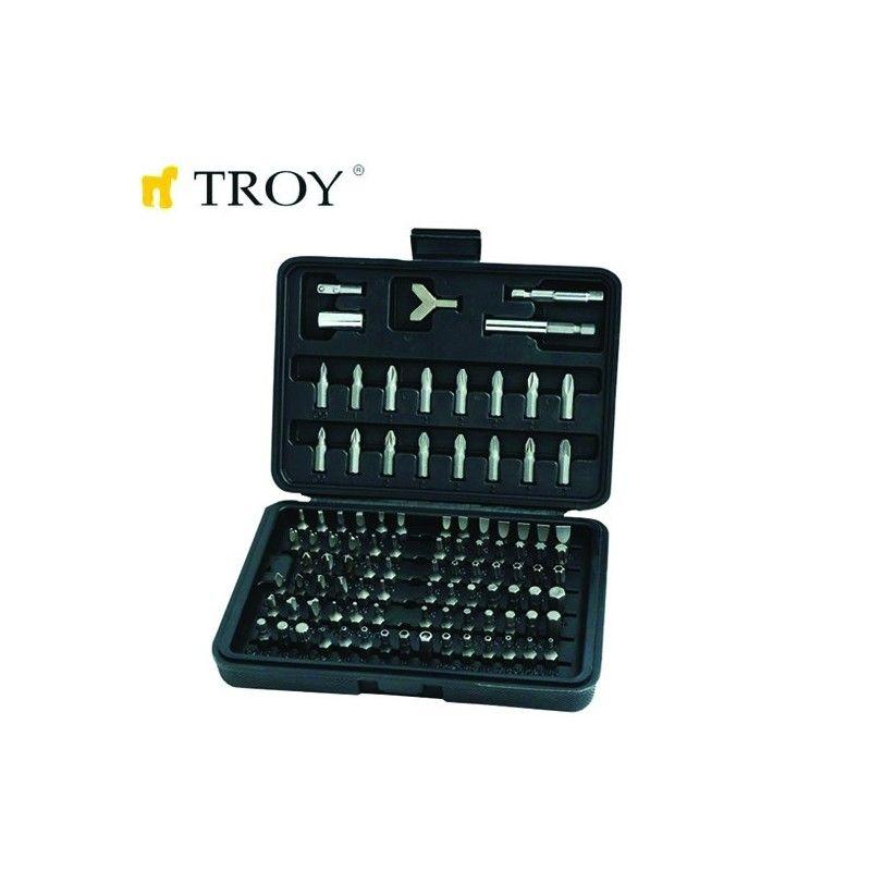 Комплект битове 100 части  / TROY 22302 /