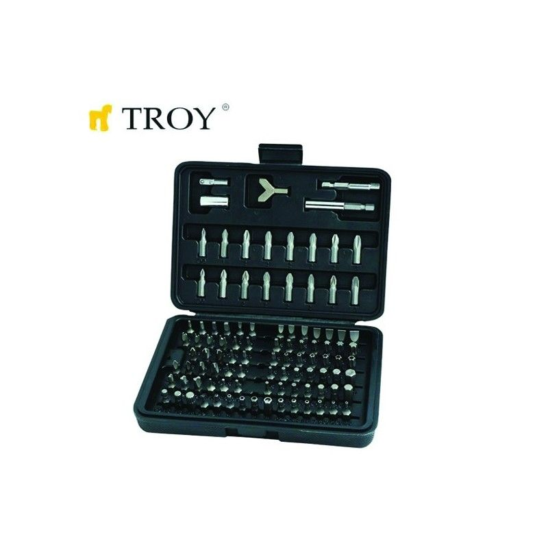 TROY 22302 Bits Uç Seti 100 Parça