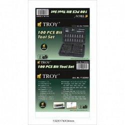 Bits Set, 100 Pcs  / TROY 22302 / 2
