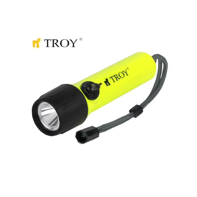 Diving Flashlight / Troy 28061 /