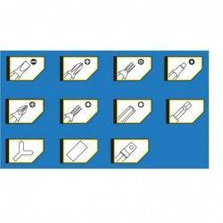 Bits Set, 100 Pcs  / TROY 22302 / 4