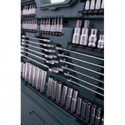 Комплект тресчотки с вложки и ключове- 215 части , с 10 години гаранция / Mannesmann 98430 / 20