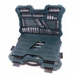 Комплект тресчотки с вложки и ключове- 215 части , с 10 години гаранция / Mannesmann 98430 / 21