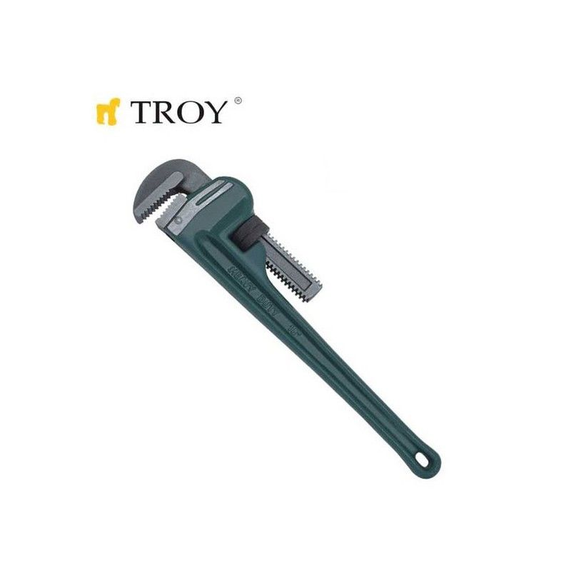 Pipe Wrench 250 mm / Ø 34 mm / TROY 21225 /