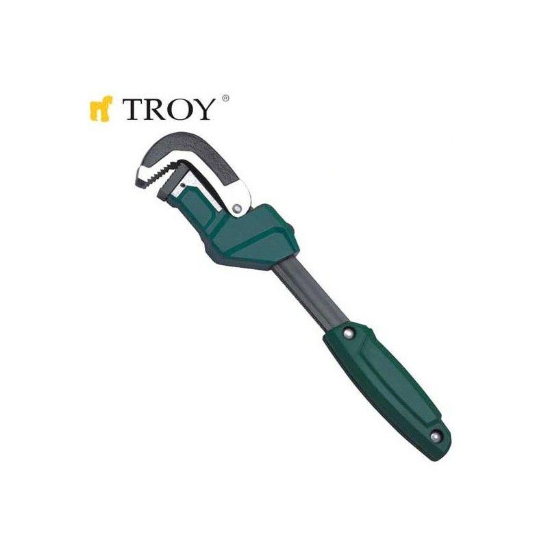 TROY 21246 Kolay Ayarlanabilir Boru Anahtarı 300mm