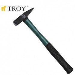 Hammer with fiberglass handle 300gr  / TROY 27233 / 1