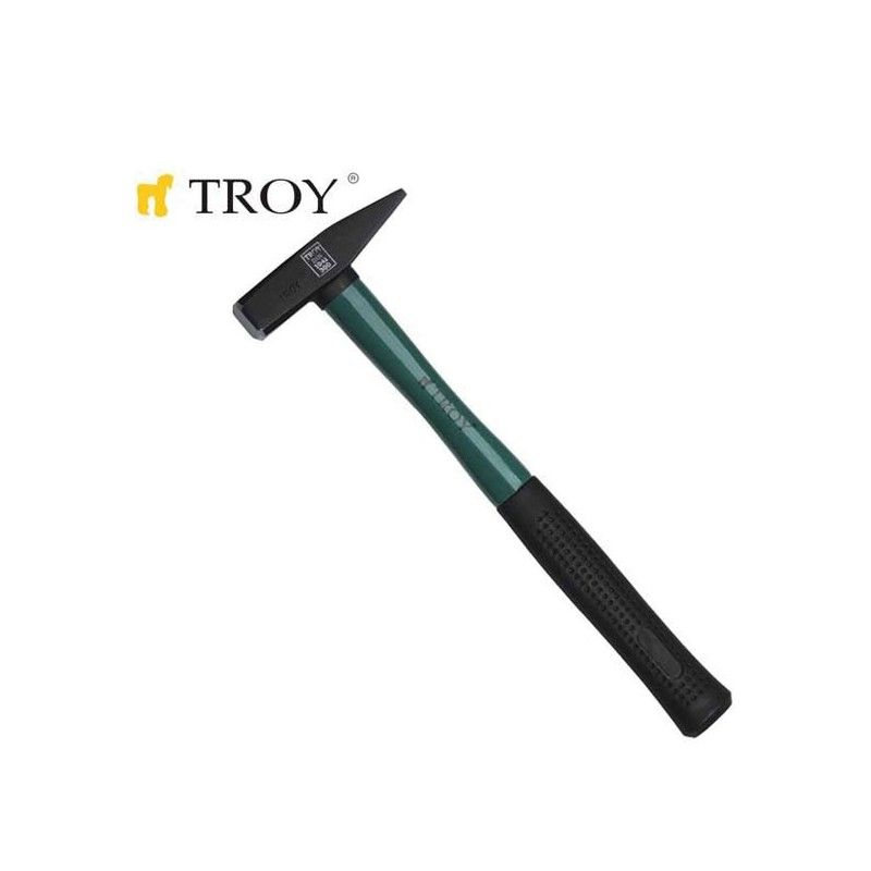 Hammer with fiberglass handle 300gr  / TROY 27233 /