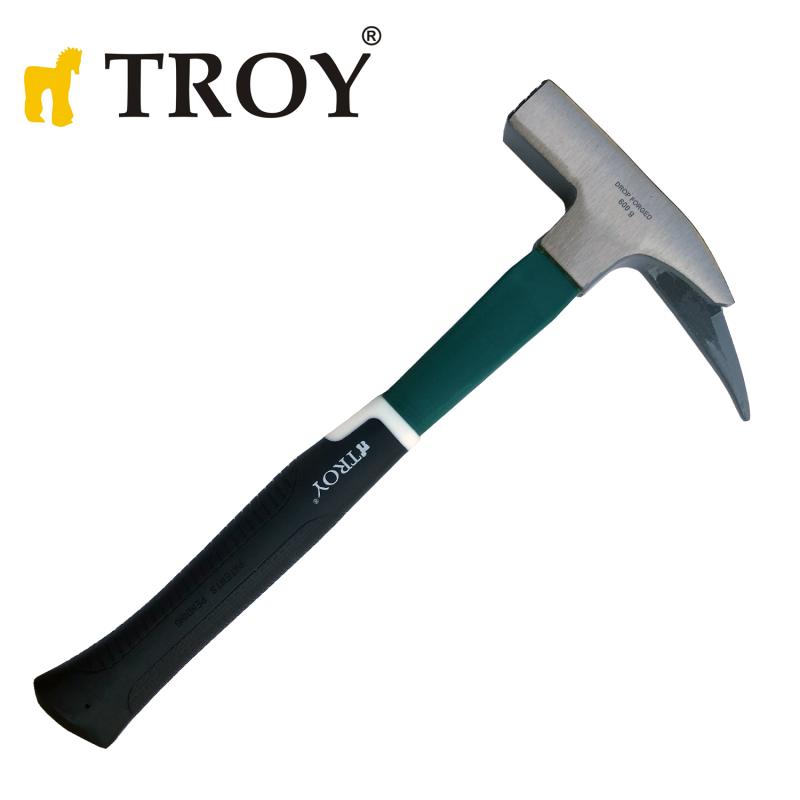 Кофражен чук с фибергласова ръкохватка 600gr  / TROY 27240 /