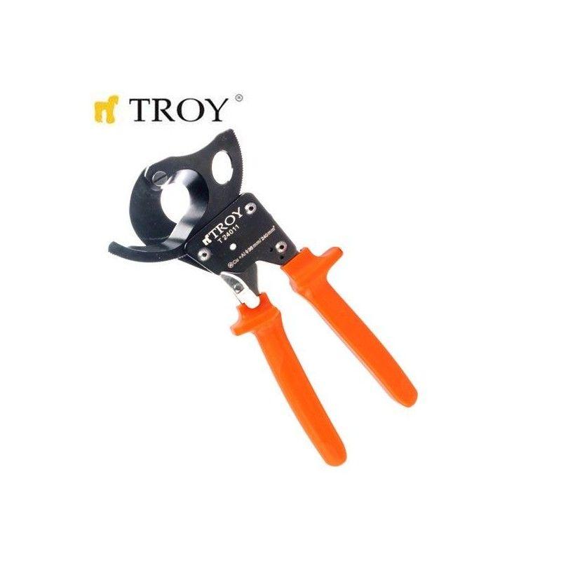 Ножица за рязане на кабел с изолирани ръкохватки  / TROY 24011 /